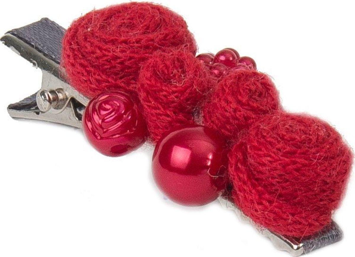 Заколка для волос Malina By Андерсен Ягодный пунш, цвет: красный. 31608тб5331608тб53Заколка для волос поможет подчеркнуть вашу индивидуальность и стиль. С помощью заколки вы сможете уложить волосы в элегантную прическу.