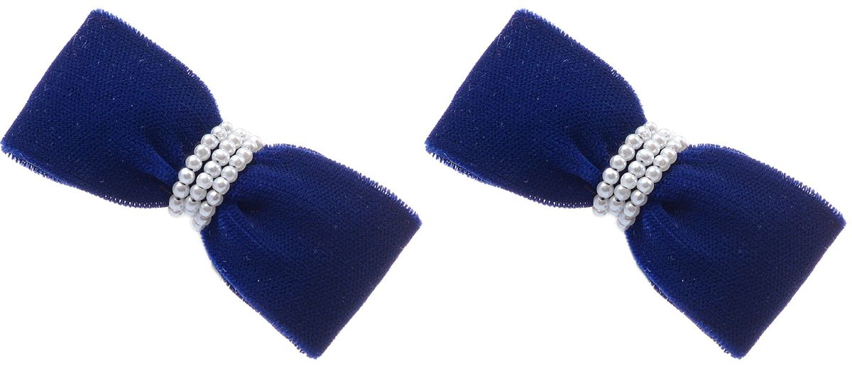 Резинка для волос Malina By Андерсен Квин, цвет: синий, 2 шт. 31702рм4231702рм42