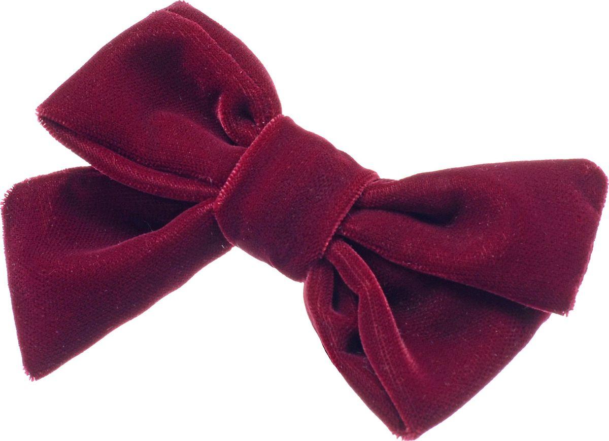 "Заколка для волос Malina By Андерсен ""Нуар"", цвет: бордовый. 31703тб54"