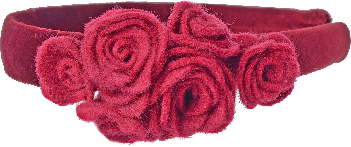 Ободок для волос Malina By Андерсен Шарли, цвет: бордовый. 31704об54 malina by андерсен ободок венок