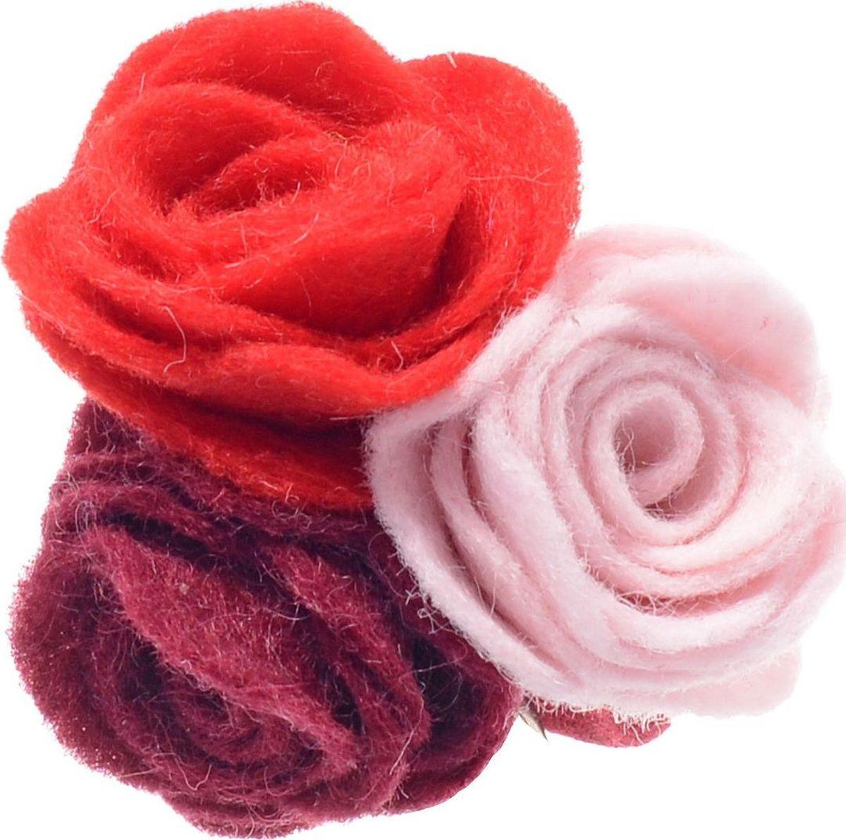 Резинка для волос Malina By Андерсен Мелтон, цвет: красный. 31707рб5331707рб53Резинка для волос поможет подчеркнуть вашу индивидуальность и стиль. С помощью резинки вы сможете уложить волосы в элегантную прическу.