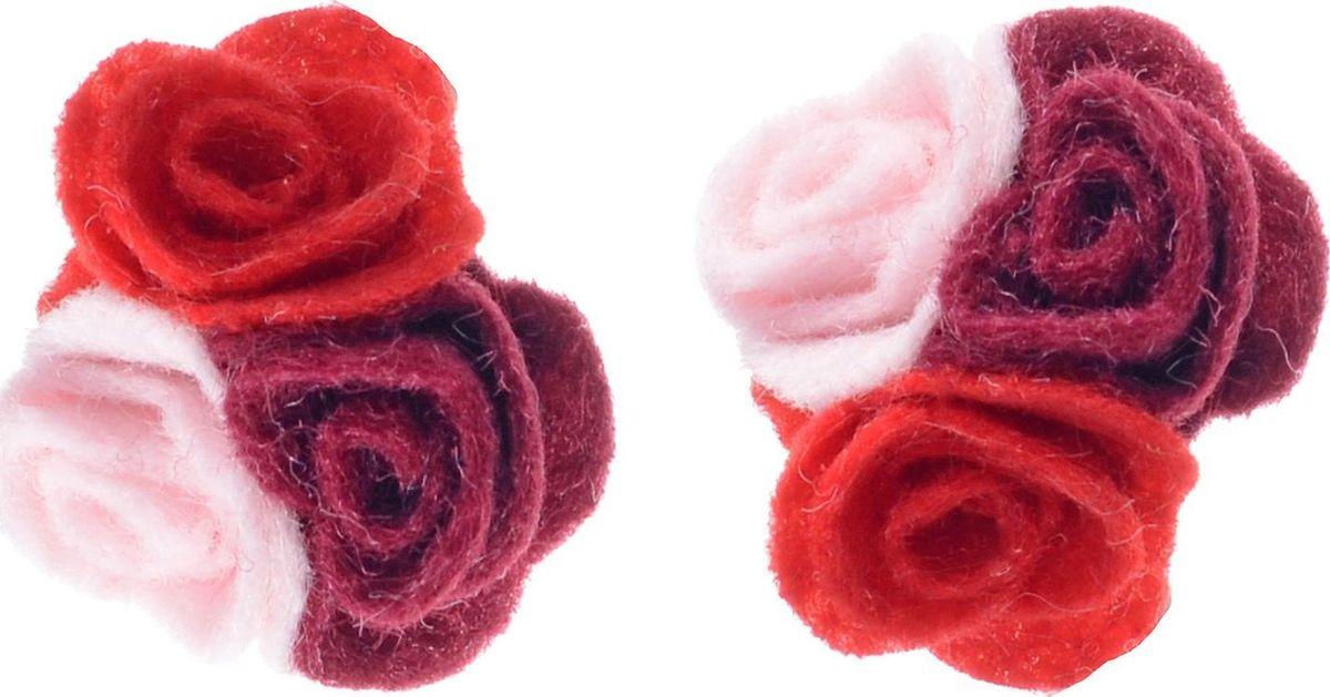 Резинка для волос Malina By Андерсен Мелтон, цвет: красный, 2 шт. 31707рм5331707рм53Резинка для волос поможет подчеркнуть вашу индивидуальность и стиль. С помощью резинки вы сможете уложить волосы в элегантную прическу.