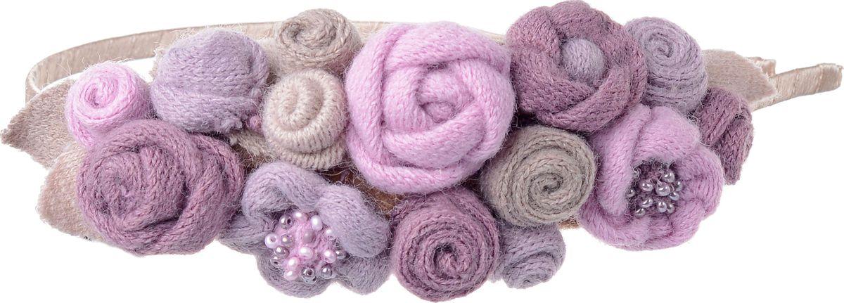 Ободок для волос Malina By Андерсен Мильфлер, цвет: розовый, бежевый. 31709об23 malina by андерсен ободок венок