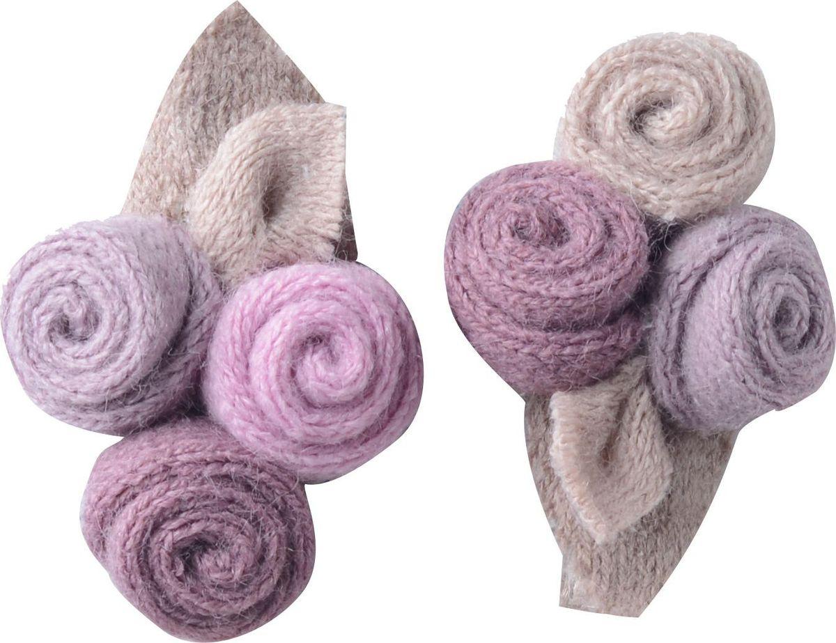 Заколка для волос Malina By Андерсен Мильфлер, цвет: розовый, 2 шт. 31709тм23 гребни bizon гребень диадема заколка