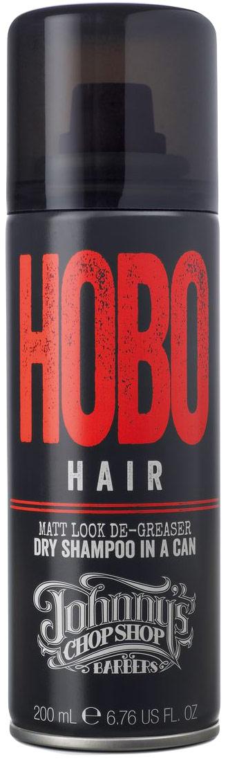 Johnnys Chop Shop Hobo Hair Dry Shampoo сухой шампунь для мужчин, 200 мл124459Сухой шампунь в баллончике представляет собой обезжириватель, устраняющий жирный блеск и лишний себум кожи головы. Впитывает излишний себум, позволяя освежить внешний вид в перерывах между мытьём волос. Слегка приподнимает волосы у корней, обладает матирующим эффектом. Подходит любому типу волос, вне зависимости их длины. Содержит впитывающий себум крахмал Тапиоки. Без парабенов.Сухой шампунь: всё, что нужно знать. Статья OZON Гид