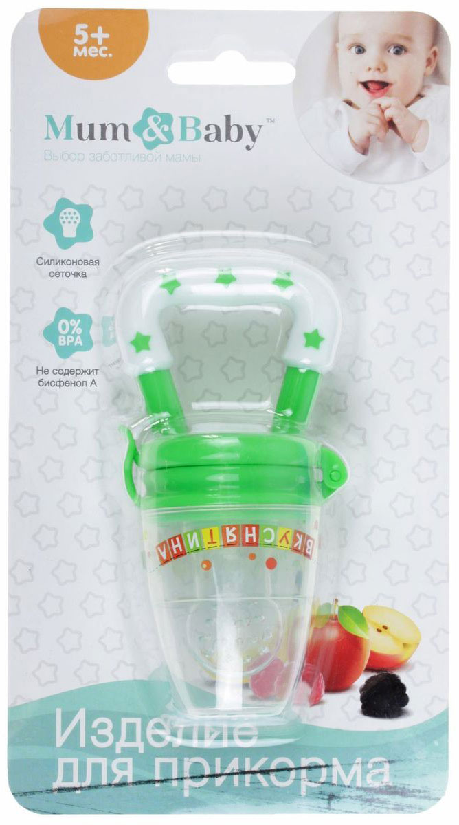 Mum&Baby Ниблер Вкуснятина, цвет: зеленый