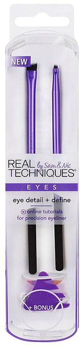 Real Techniques Набор для макияжа глаз Eye Detail + Define