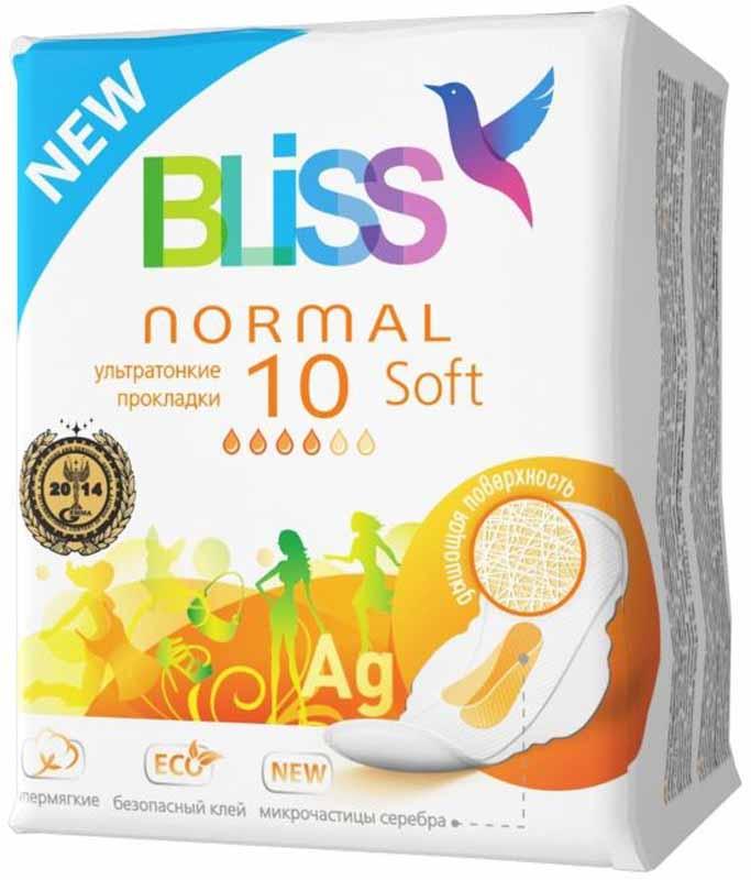 Bliss Ультратонкие прокладки Soft Normal, 10 шт джинсы urban bliss urban bliss ur007ewgti46