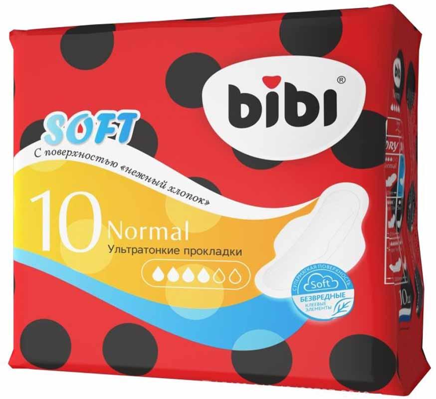 BiBi Ультратонкие прокладки Soft Normal, 10 шт0355