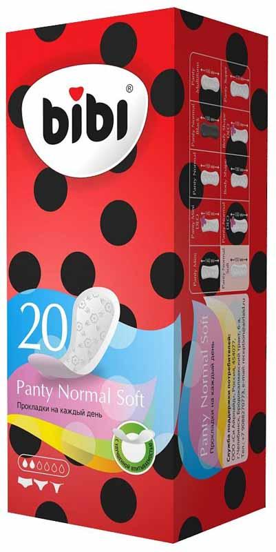 Bliss Ежедневные гигиенические прокладки Panty Normal, 20 шт. 03240324