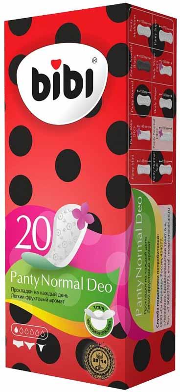 Bliss Ежедневные гигиенические прокладки Panty Normal Deo, 20 шт. 33703370