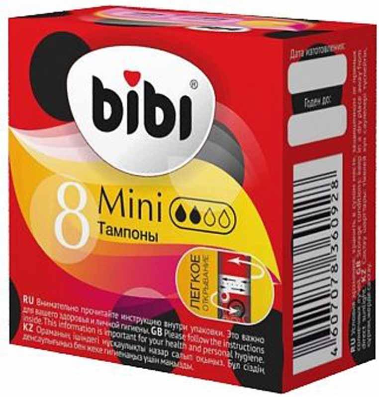 BiBi Тампоны гигиенические Mini, 8 шт0928