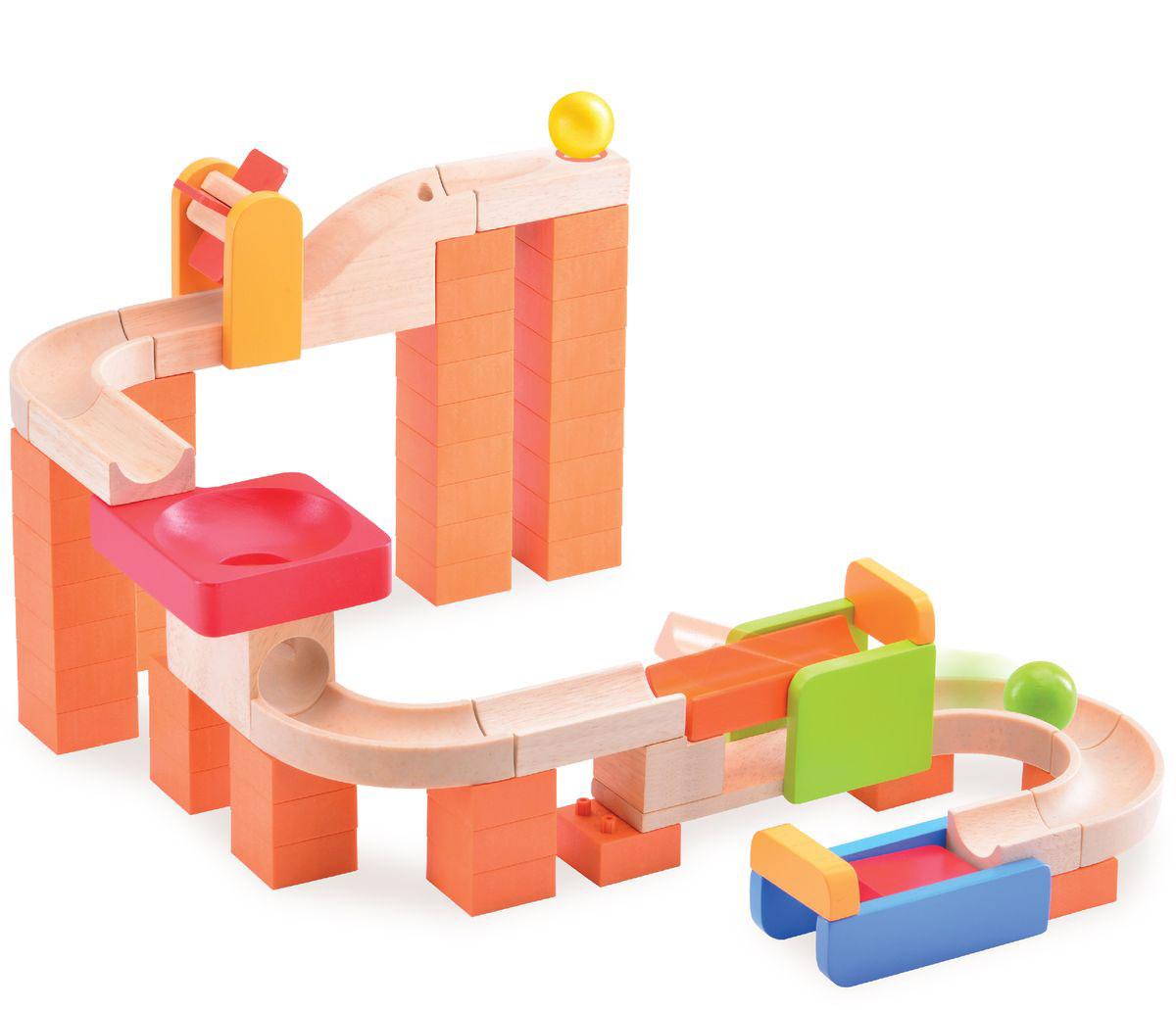 WWT Деревянный конструктор Trix-Track Круть-верть конструкторы wonderworld блоки для trix track 30 штук