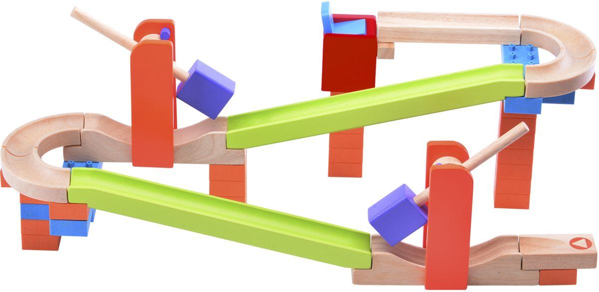 WWT Деревянный конструктор Trix-Track Трек Разгон наверх! конструктор wonderworld trix track катимся катимся ww 7003