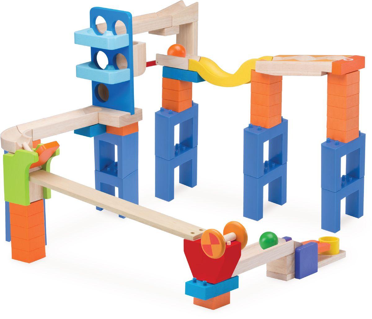 WWT Деревянный конструктор Trix-Track Чудо-мостик конструкторы wonderworld блоки для trix track 30 штук