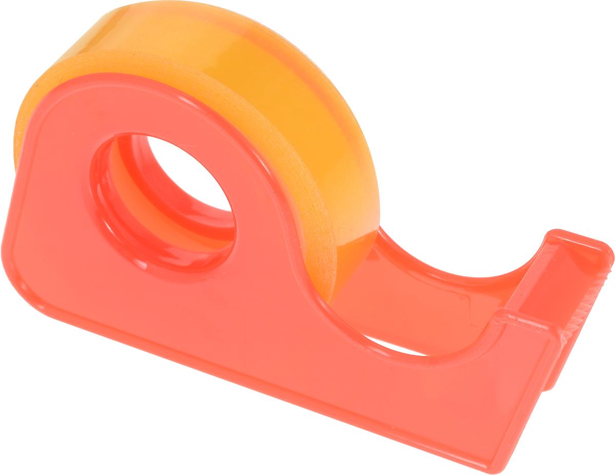 Milan Клейкая лента в диспенсере 10 м х 12 мм цвет оранжевый80215_оранжевыйНебольшая канцелярская лента Milan надежно скрепляет бумагу, фотографии,картон. Применяется с целью упаковки, наклеивания или склеиванияповерхностей. Ширина ленты 12 мм, длина намотки — 10 метров. В удобномлегком пластиковом диспенсере. В коробке 4 разных цвета диспенсера.