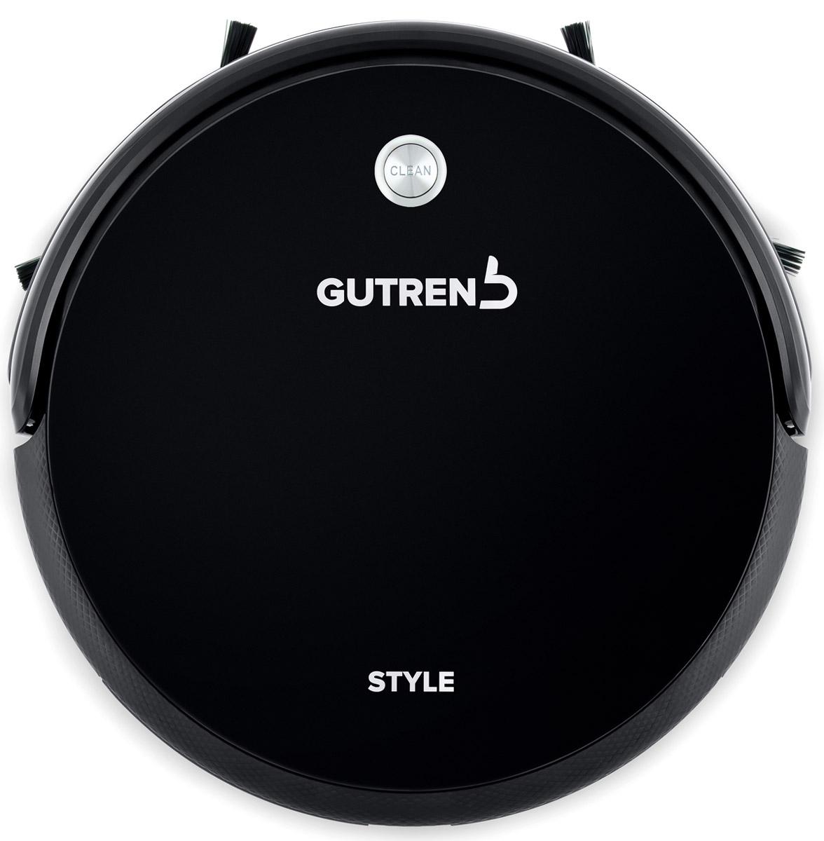Gutrend Style 220, Black робот-пылесосG220BРобот-пылесос Gutrend Style 220 оснащен по последнему слову техники, и обеспечивает как влажную, так и сухую уборку на всех типах напольных покрытий.В данной модели реализована усовершенствованная технология автоматической подачи воды SMART DRIP 2.0. Отныне надежная электронная система отвечает за точное дозирование поступающей жидкости.В зависимости от скорости движения робота-пылесоса миникомпрессор создает необходимое давление в контейнере для воды - ее необходимое количество поступает на микрофибру.В момент остановки пылесоса электронный клапан прекращает подачу жидкости, оберегая Ваше напольное покрытие.Новый BLDC мотор стал еще более надежным и производительным, он обеспечивает высокую мощность всасывания, но в тоже время низкий уровень шума.Последняя версия программного обеспечения в сочетании с литий-ионным аккумулятором увеличенной до2600 мАч емкости позволит прекрасно справиться с уборкой на площади до 240 м2. Увеличилось и время автономной работы, теперь оно составляет 210 минут.Несмотря на все новшества, Gutrend Style 220 сохранил маленькие габариты: всего 30,5 см в диаметре, и 7,5 см в высоту: он с легкостью уберет в таких труднодоступных местах, как пространство под кроватью, шкафами, и прочими предметами интерьера.Данная модель обладает вместительным пылесборником (0,45 л.), емкости которого хватает на 3-4 полноценных уборки. А для того, чтобы воздух в доме всегда оставался чистым, в пылесборнике предусмотрены 3 ступени фильтрации.Наличие продвинутой системы оптических датчиков помогают роботу без труда ориентироваться в пространстве. Они не позволят ему упасть с высоты и предупредят столкновение с предметами интерьера. Виртуальная стена позволяет ограничить движение робота в определенную зону. С помощью пульта дистанционного управления вы сможете задать один из 8 режимов уборки в зависимости от поставленной задачи. По окончанию уборки робот-пылесос самостоятельно отправится на зарядную станцию.Емкость аккуму