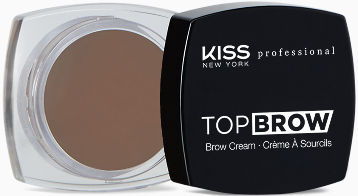 Kiss New York Professional Помада для бровей Top brow, Soft Brown, 3 гKBCM03Помада для моделирования бровей. Идеально для создания выразительных, ярких, графичных бровей. Ровно наносится и после высыхания неплывет, отлично держится в течение всего дня. Уникальный продукт для моделирования формы бровей с насыщенной плотной восковой формулой. В формуле присутствуют воски растительного происхождения(карнауба, канделила и пчелиный)-для легкости нанесения массу на зону брови с хорошей фиксацией волосков. Высокая плотность покрытия, естественный эффект.Как создать идеальные брови: пошаговая инструкция. Статья OZON Гид