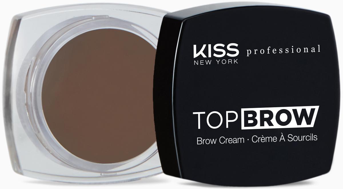 Kiss New York Professional Помада для бровей Top brow, Dark Brown, 3 гKBCM04Помада для моделирования бровей. Идеально для создания выразительных, ярких, графичных бровей. Ровно наносится и после высыхания неплывет, отлично держится в течение всего дня. Уникальный продукт для моделирования формы бровей с насыщенной плотной восковой формулой. В формуле присутствуют воски растительного происхождения(карнауба, канделила и пчелиный)-для легкости нанесения массу на зону брови с хорошей фиксацией волосков. Высокая плотность покрытия, естественный эффект.Как создать идеальные брови: пошаговая инструкция. Статья OZON Гид