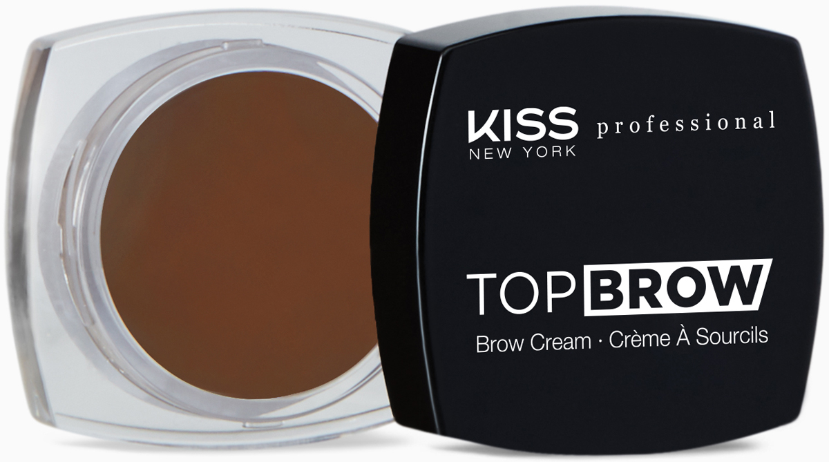Kiss New York Professional Помада для бровей Top brow, Chocolate, 3 гKBCM05Помада для моделирования бровей. Идеально для создания выразительных, ярких, графичных бровей. Ровно наносится и после высыхания неплывет, отлично держится в течение всего дня. Уникальный продукт для моделирования формы бровей с насыщенной плотной восковой формулой. В формуле присутствуют воски растительного происхождения(карнауба, канделила и пчелиный)-для легкости нанесения массу на зону брови с хорошей фиксацией волосков. Высокая плотность покрытия, естественный эффект.