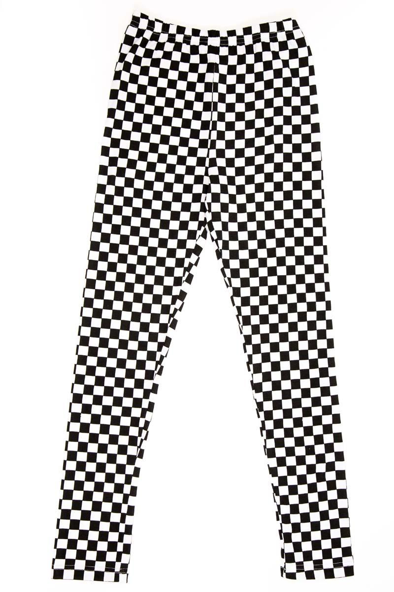 Леггинсы для девочки LeadGen, цвет: черный. G520010214-171. Размер 128G520010214-171Леггинсы для девочки LeadGen выполнены из хлопкового эластичного трикотажа. Модель облегающего кроя с эластичной резинкой на талии.