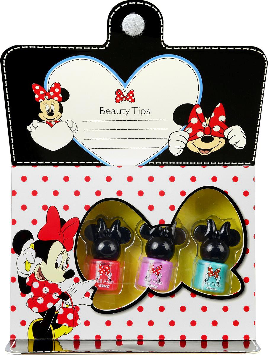 Markwins Игровой набор детской декоративной косметики Minnie 9703051 markwins набор детской декоративной косметики для ногтей minnie mouse