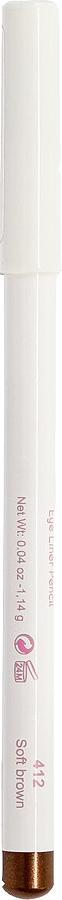 Cherie Ma Cherie Карандаш для глаз Soft Silk №41257412Мягкая текстура карандаша для глаз Soft SILK легко и приятно наносится на нежную кожу век. Уникальный состав на основе масел. Абсолютно гипоаллергенен. Он легко растушевывается, оставляя на веках насыщенный ровный цвет