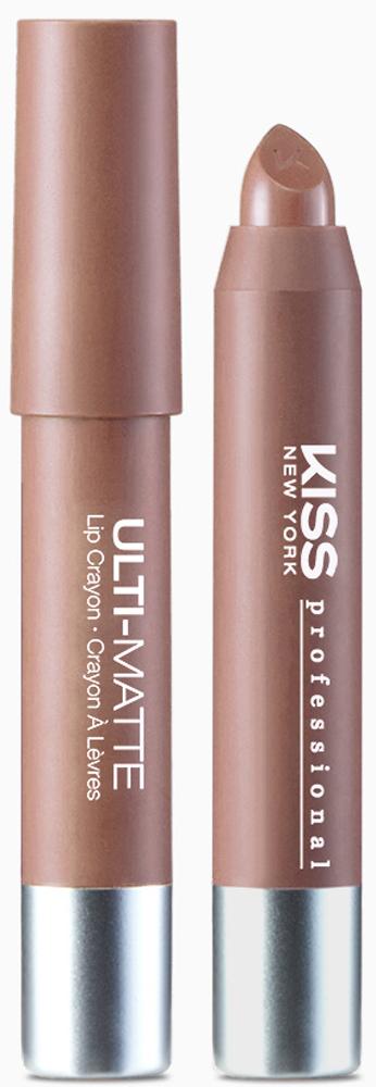 Kiss New York Professional Матовая помада-карандаш Ulti-Matte, Dumbo, 2,8 гKLC02Помада-карандаш с интенсивной цветопередачей и отличной стойкостью. Чистый цвет. Абсолютно матовый финиш. Только цвет, никакогослоя текстуры на губах. Высокопигментированная текстура позволяет получить насыщенный цвет с первого нанесения. Цветфиксируется сразу после нанесения. В течение дня он может побледнеть, но равномерно- без эффекта выцветания и неприятного остающегося контура. Стойкость эффекта без ущерба комфорту: помада-карандаш отлично держится и не сушит губы. Формула помады содержит масло семян подсолнечника для дополнительного питания кожи губ. Уникальный скошенный аппликатор для точного нанесения без использования косметического карандаша. Высокая плотность покрытия.