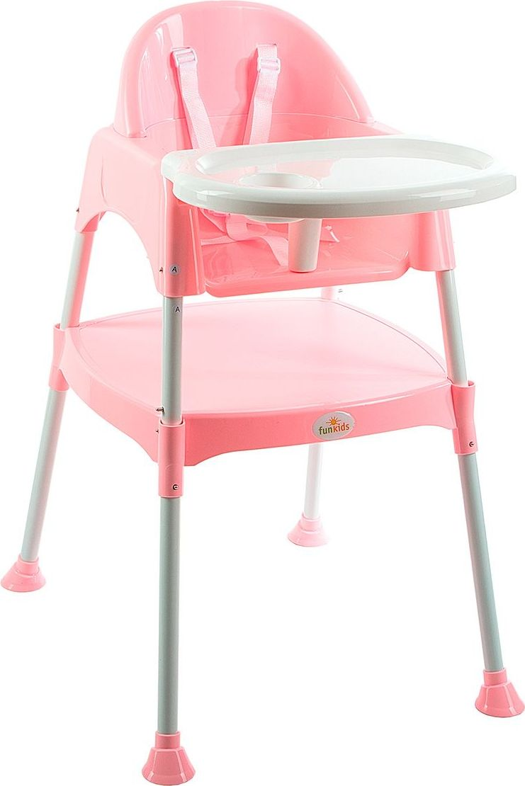 Funkids Стульчик для кормления Eat And Play 2 в 1 цвет розовый pituso стульчик для кормления bonito дружок попугай pituso белый