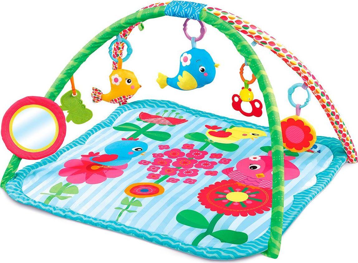 Funkids Игровой коврик Cartoon Birds Gym развивающий коврик умка круглый с мягкими игрушками на подвеске