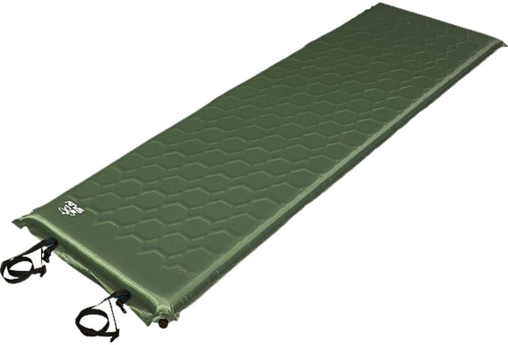 Коврик самонадувающийся Сплав Maxi Camp 6.4, цвет: оливковый, 198 х 64 см5107996Этот коврик - идеальное решение для кемпингов, стационарных палаточных и базовых лагерей, в общем, для всех случаев, когда можно позволить устроить свой быт красиво. Кроме того - это выход для крупных людей уже начинающих привыкать к тому, что ноги нужно устраивать на ночлег отдельно. Коврик выполнен из пенополиуретана и изолирован от случайностей плотной воздухо-водонепроницаемой тканью 210T Diamond Polyester. Этот легкий и мягкий полиэстеровый материал имеет и повышенную сопротивляемость к разрезам и проколам. Однако экспериментировать над ковриком все же не стоит и обращаться с ним нужно аккуратно. Вспененный полиуретан обеспечивает прекрасную теплоизоляцию и упругость характерную для ортопедических матрацев.Антискользящее покрытие на нижней стороне коврика препятствует стремлению ковров расползаться по палатке. Транспортный чехол в комплекте.