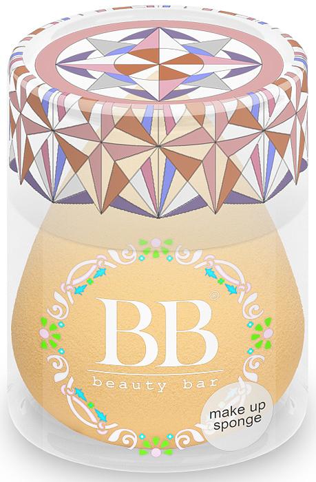 Спонж для макияжа Beauty Bar, цвет: телесный820435Уникальный спонж для макияжа Beauty Bar. Он равномерно наносит макияж. Подходит для тональных и других кремообразных основ. Особая форма делает этот спонж еще более удобным: заостренный кончик предназначен для областей вокруг носа и век. Спонж Beauty Bar позволяет экономить косметические средства и при этом всегда добиваться превосходного результата
