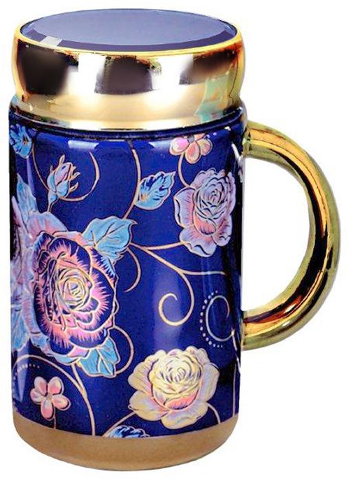 Термокружка LarangE Виолет, 500 мл593-101Оригинальная термокружка станет одним из любимых аксессуаров, который подчеркнет ваш стиль и создаст настроение при каждом чаепитии.