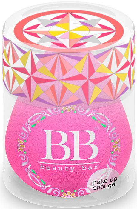 Спонж для макияжа Beauty Bar, цвет: фуксия820145Уникальный спонж для макияжа Beauty Bar. Он равномерно наносит макияж. Подходит для тональных и других кремообразных основ. Особая форма делает этот спонж еще более удобным: заостренный кончик предназначен для областей вокруг носа и век. Спонж Beauty Bar позволяет экономить косметические средства и при этом всегда добиваться превосходного результата