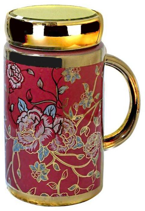 Термокружка LarangE Кармин, 500 мл593-100Оригинальная термокружка станет одним из любимых аксессуаров, который подчеркнет ваш стиль и создаст настроение при каждом чаепитии.