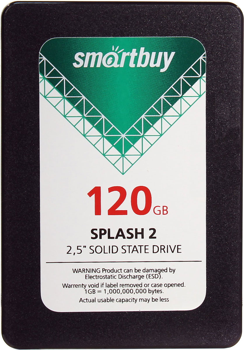 Smartbuy Splash 2 120GB SSD-накопитель (SB120GB-SPLH2-25SAT3)