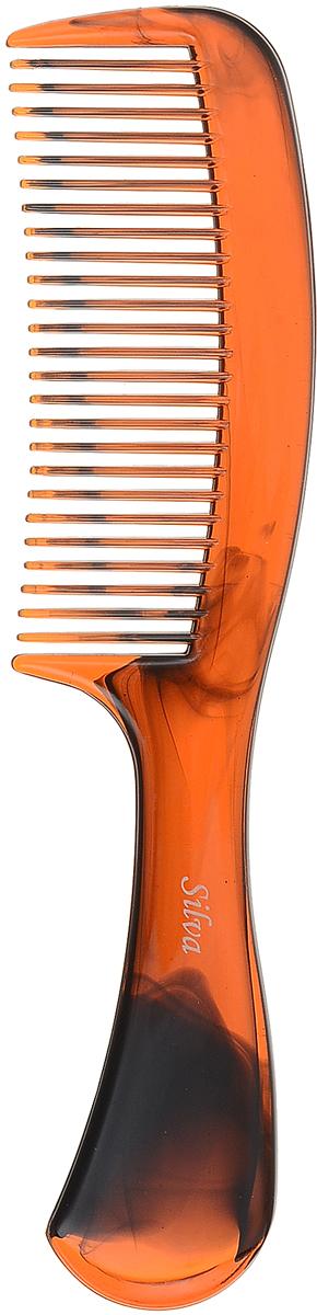 SilvaРасческа для волос малая, цвет:  коричневый Silva