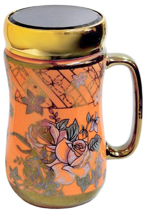 Термокружка LarangE Оранж, 500 мл593-111Оригинальная термокружка станет одним из любимых аксессуаров, который подчеркнет ваш стиль и создаст настроение при каждом чаепитии.