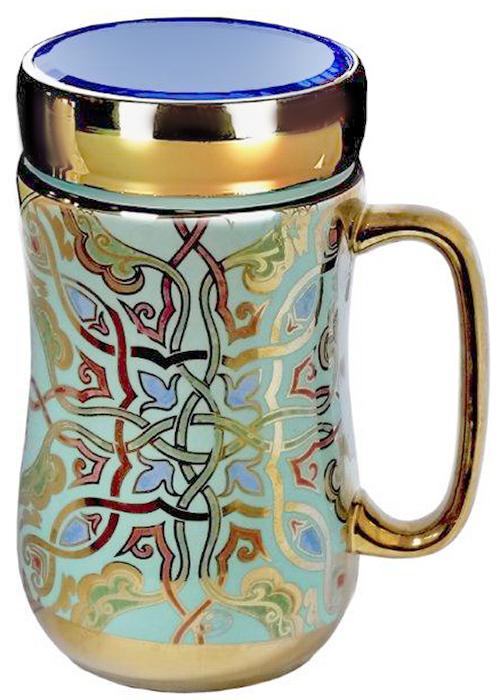 Термокружка LarangE Ментол, 500 мл593-108Оригинальная термокружка станет одним из любимых аксессуаров, который подчеркнет ваш стиль и создаст настроение при каждом чаепитии.