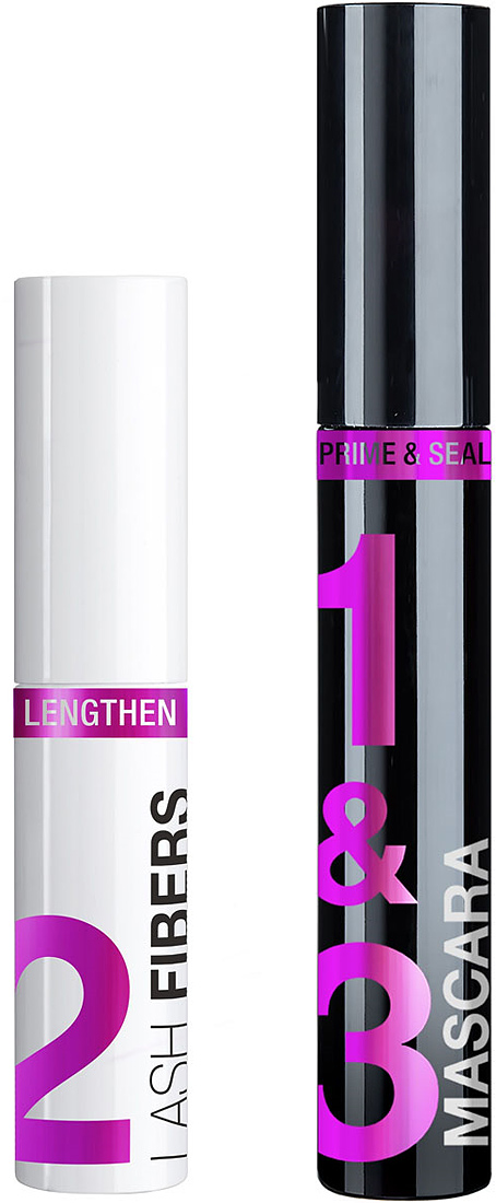 Wet n Wild Тушь для ресниц Lash-O-Matic_ Fiber Mascara Extension Kit E1421, цвет: черный, 11 мл тушь для ресниц chado mascara divin 230 цвет 230 brun variant hex name 635352