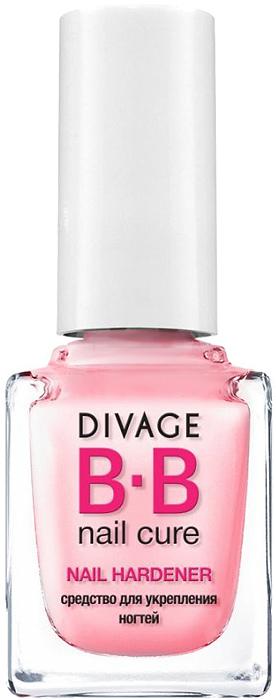 Divage BB-Средство для укрепления ногтей Nail Hardener, 12 мл концентрат divage bb pure manicure peel off formula 12 мл