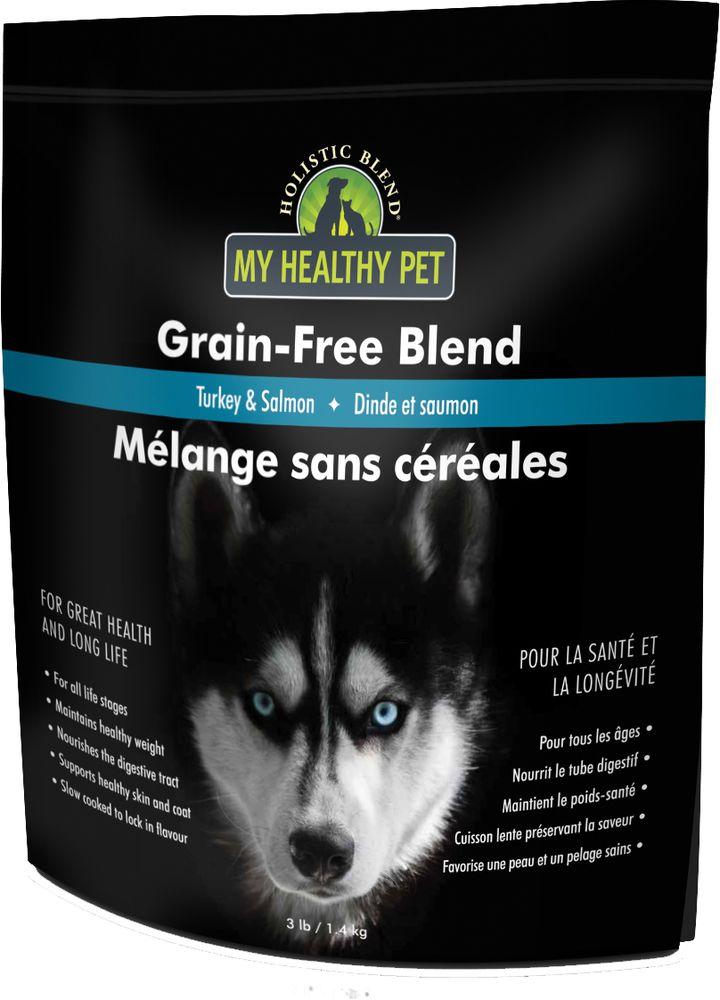 Корм сухой Holistic Blend Grain-Free для собак, индейка и лосось, 1,4 кг5-22103Высококачественные полнорационные корма производства Канада. Не содержат злаков. Подходят для животных всех пород и на всех стадиях жизни, начиная с 4-х недельного возраста. Рекомендованы животным, страдающим непереносимостью глютена.Чем кормить пожилых собак: советы ветеринара. Статья OZON Гид