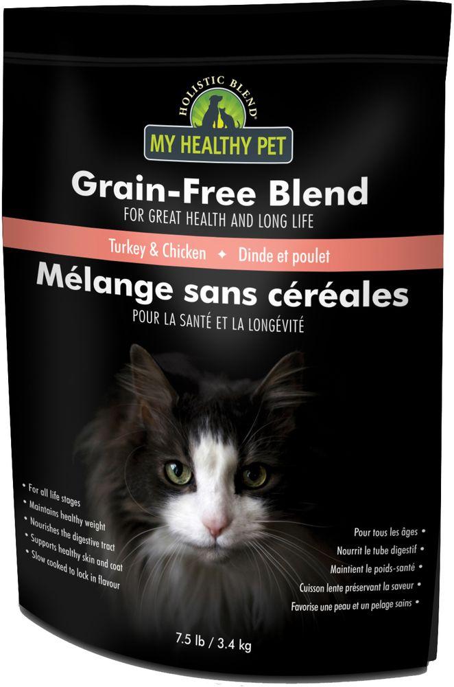 Корм сухой Holistic Blend Grain-Free для кошек, индейка и цыпленок, беззерновой, 3,4 кг5-24107Высококачественные полнорационные корма производства Канада. Не содержат злаков. Подходят для животных всех пород и на всех стадиях жизни, начиная с 4-х недельного возраста. Рекомендованы животным, страдающим непереносимостью глютена.