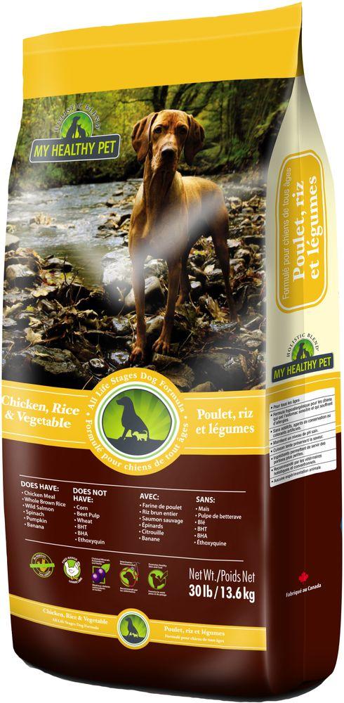 Корм сухой Holistic Blend, для собак, цыпленок, рис и овощи, 13,6 кг5-25030Высококачественный полнорационный корм Holistic Blend, производства Канада, содержит качественные злаки. Подходит для животных всех пород и на всех стадиях жизни, начиная с 4-х недельного возраста.В состав не входят химические консерванты и красители для сохранения цвета пищевого продукта. Цвет может отличаться, но качество остается неизменным.Состав: экструдированное мясо цыпленка (сублимированное) (32%), цельный бурый рис (14%), голозерный ячмень (12%), свежее мясо курицы, овес (11%), куриный жир (со смесью токоферолов), картофель, подсолнечное масло (со смесью токоферолов), рыбная мука из лосося, сухое цельное яйцо, льняное семя, дрожжи, ламинария, помидоры, морковь, тыква, клюква, шпинат, брокколи, яблоко, голубика, груша, банан, розмарин, корица, куркума, стручковый перец, ромашка, одуванчик, паприка.Микроэлементы: холина хлорид, карбонат кальция, цинка протеинат, сульфат железа, протеинат железа, оксид цинка, протеинат меди, сульфат меди, протеинат марганца, оксид марганца, йодат кальция, селенит натрия, L-лизин.