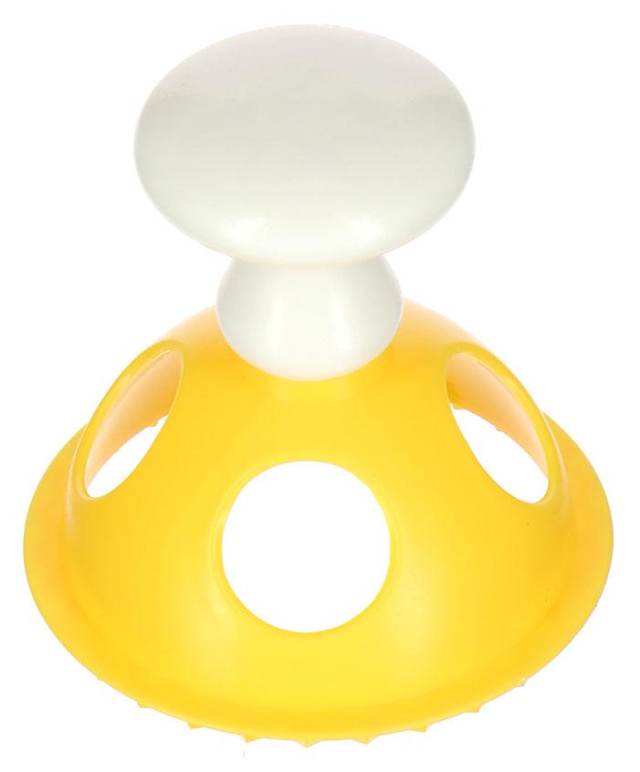 Форма для равиоли и пончиков Мультидом Круг, цвет: желтый форма для пельменей мультидом квадрат цвет желтый