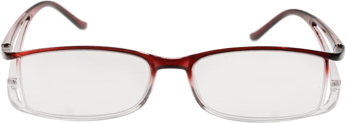 Proffi Home Очки корригирующие (для чтения) 5858 Ralph +1.50, цвет: бордовый очки корригирующие proffi очки корригирующие для чтения 9099 ralph 4 00