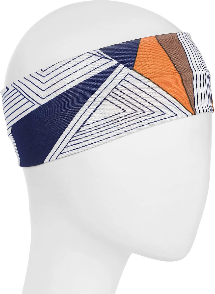 Повязка для волос Mitya Veselkov Шарм, цвет: геометрия. 1636623 riffi повязка для волос цвет коралловый