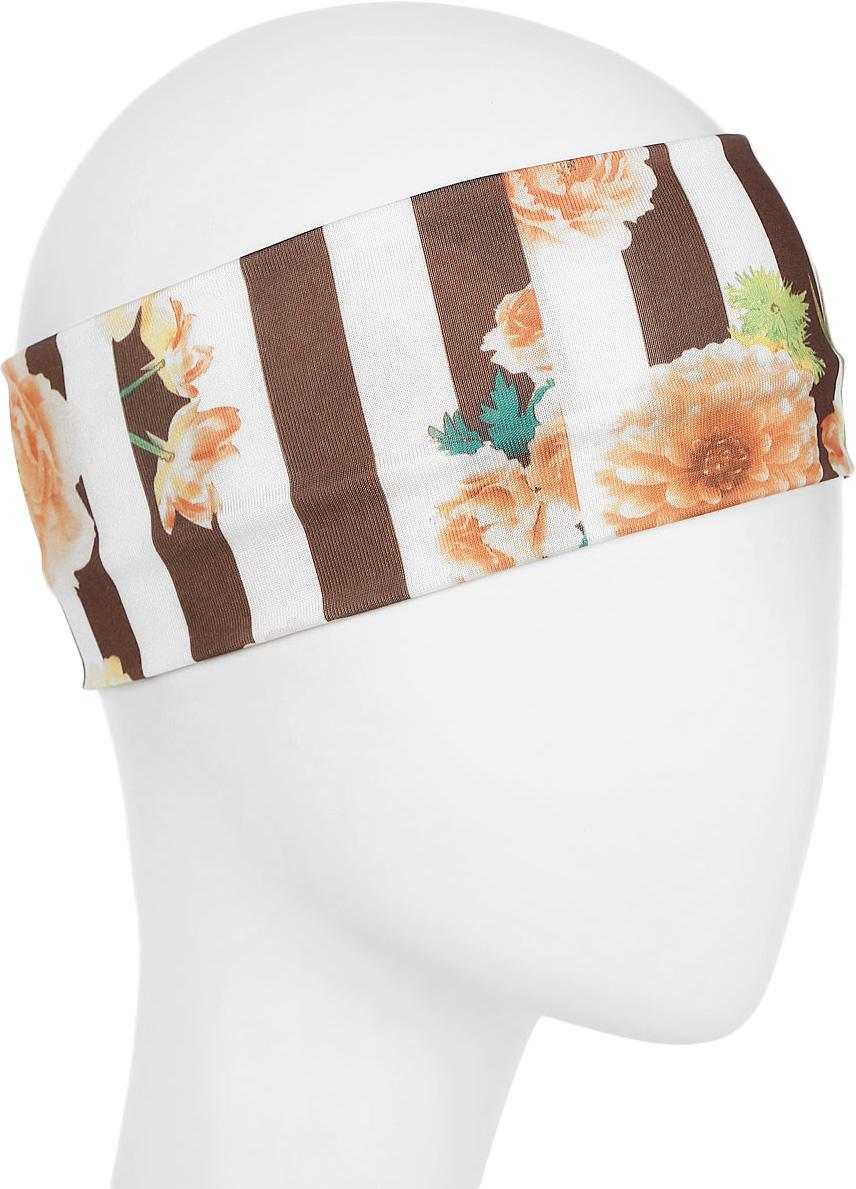 Повязка для волос Mitya Veselkov Шарм, цвет: коричневый. 1636617-5 riffi повязка для волос цвет коралловый
