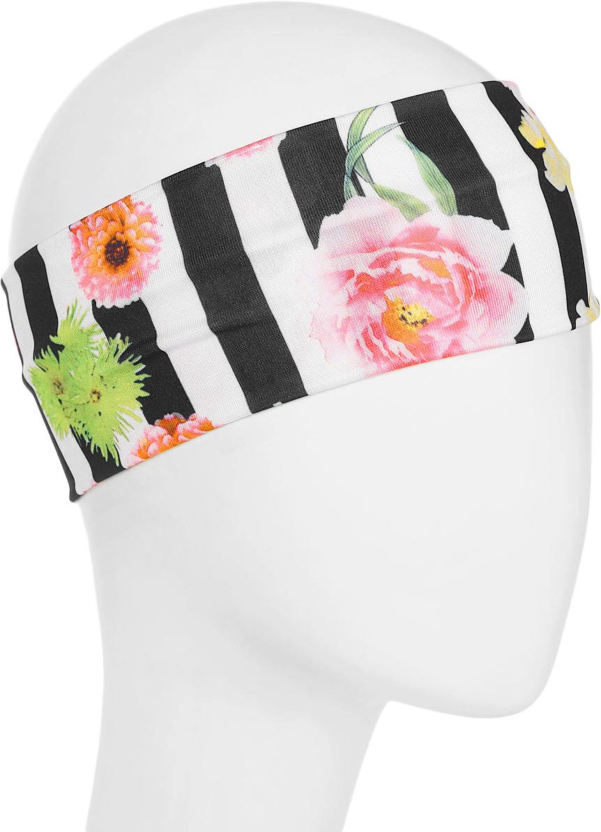 Повязка для волос Mitya Veselkov Шарм, цвет: черный. 1636617-21636617-2Стильная женская повязка Mitya Veselkov изготовлена из текстиля. Симпатичный аксессуар защитит голову от яркого солнца или возьмет на себя функцию ободка. Повязка не сдавливает голову и превосходно тянется.