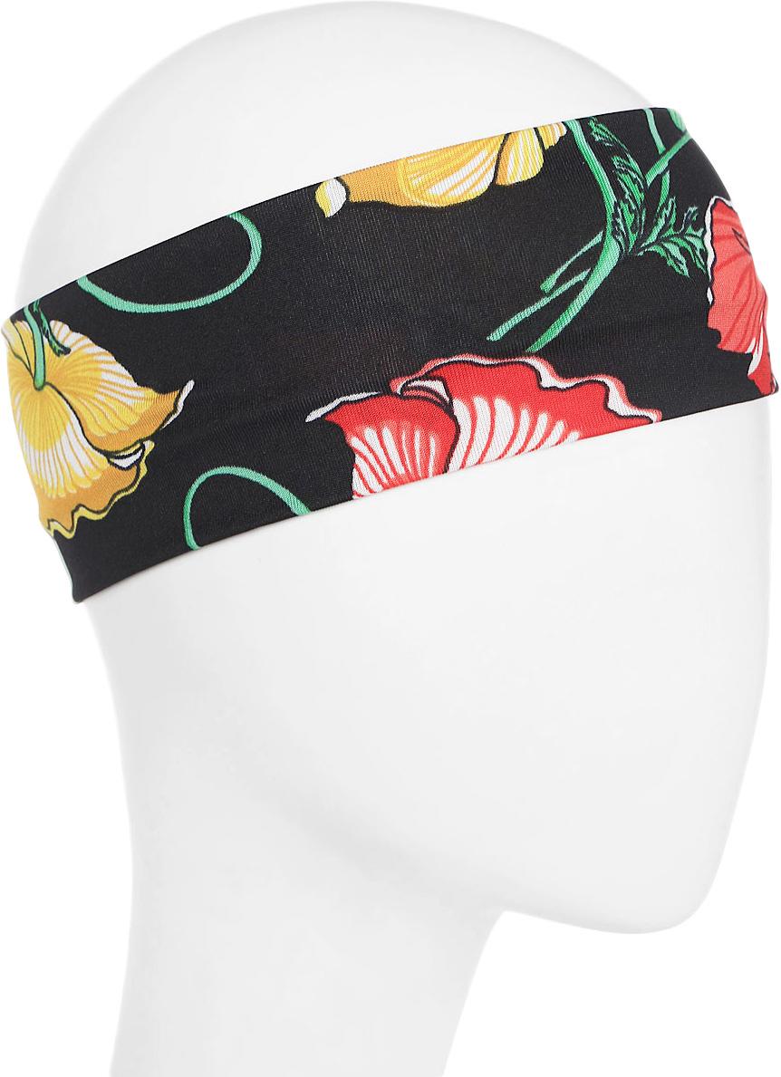 Повязка для волос Mitya Veselkov Шарм, цвет: черный. 1636619-31636619-3Стильная женская повязка Mitya Veselkov изготовлена из текстиля. Симпатичный аксессуар защитит голову от яркого солнца или возьмет на себя функцию ободка. Повязка не сдавливает голову и превосходно тянется.